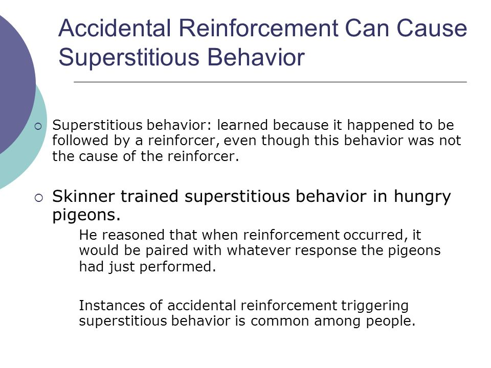 skinner superstition in the pigeon pdf