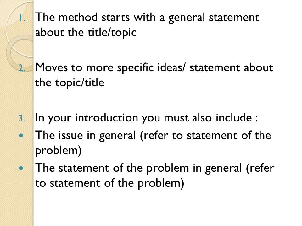 general to specific introduction essay helper