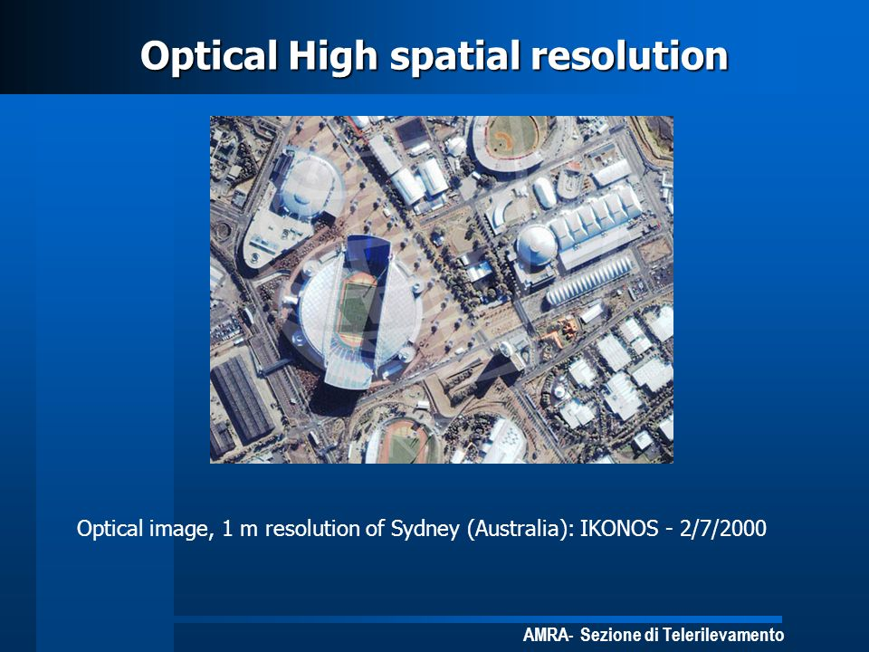 Optical High spatial resolution