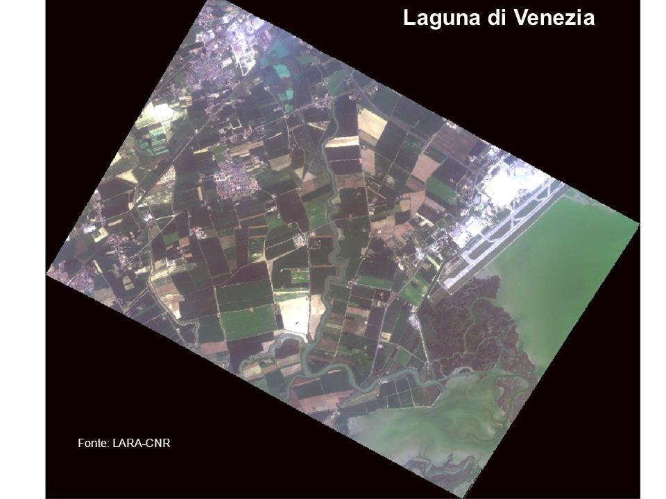 Laguna di Venezia Immagine della laguna di Venezia Fonte: LARA-CNR
