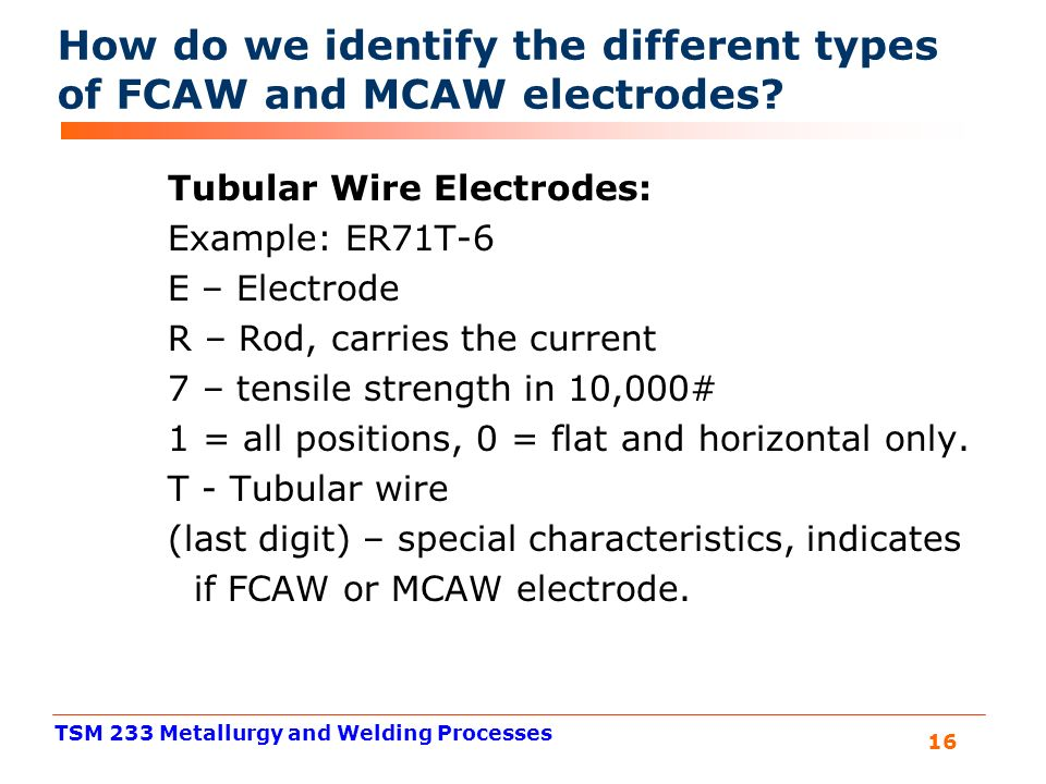 Cool Welding Wire Types Photos - Simple Wiring Diagram Images ...