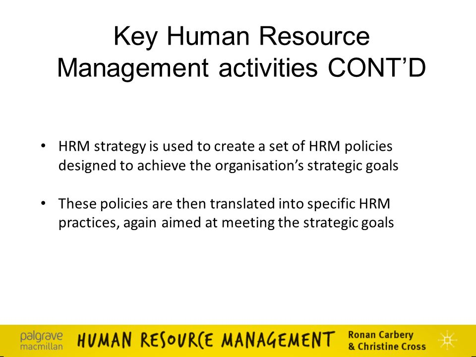 4 policy goals of hrm Employers whose goals are to attract the best com/key-human-resource-management-policies-procedures of human resource management [hr policy.