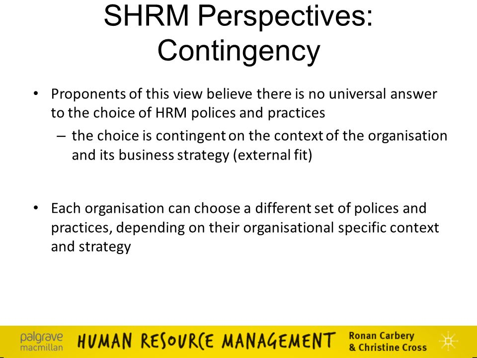 hrm in business context Human resource management or mostly named simply as hrm is a strategic method thoroughly thought out for managing industrial relations which accentuate the fact that workforce efficiency and commitment are the key factors in achieving constant competitive advantage or high quality work performance.