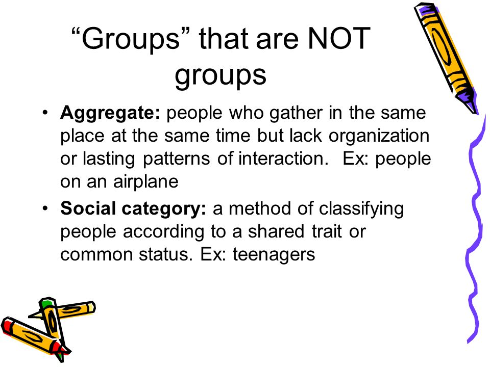 Groups that are NOT groups