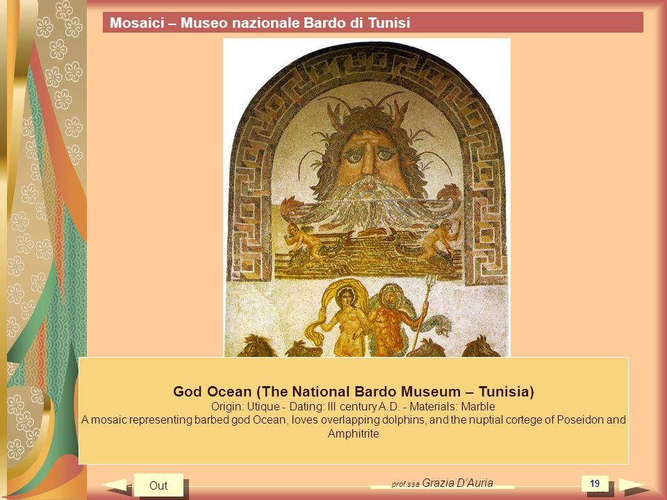 God Ocean (The National Bardo Museum – Tunisia)
