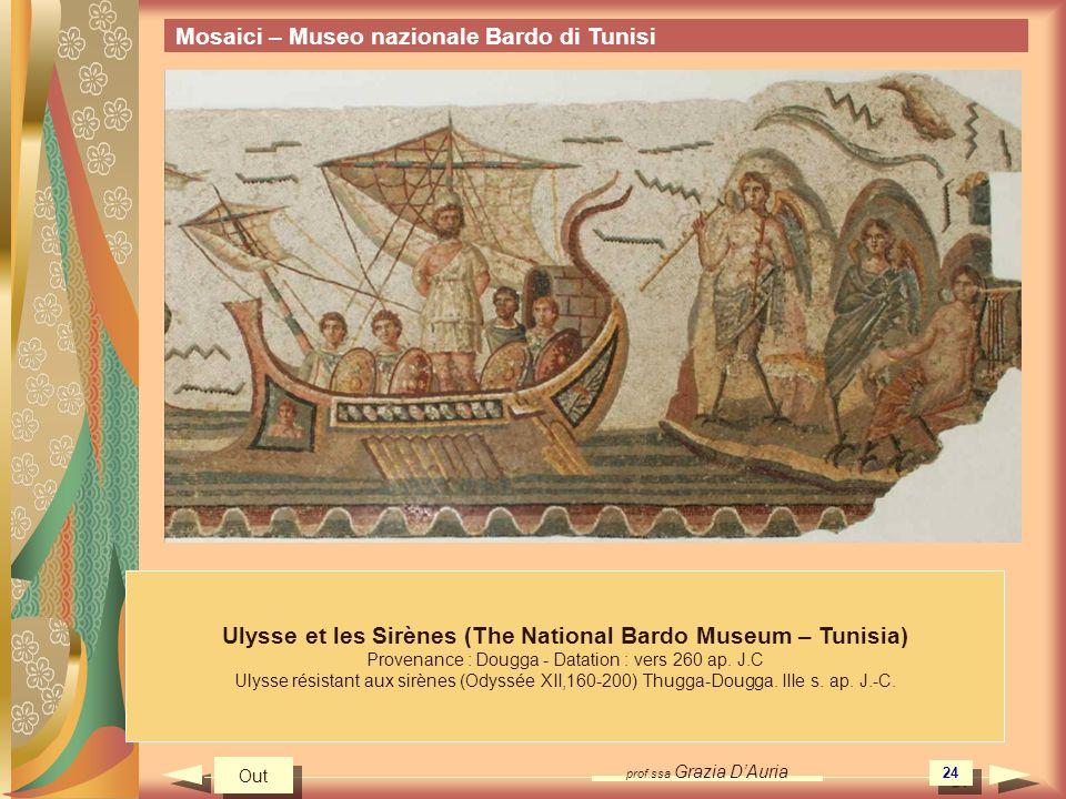 Ulysse et les Sirènes (The National Bardo Museum – Tunisia)