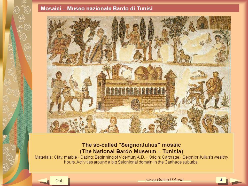 Mosaici – Museo nazionale Bardo di Tunisi