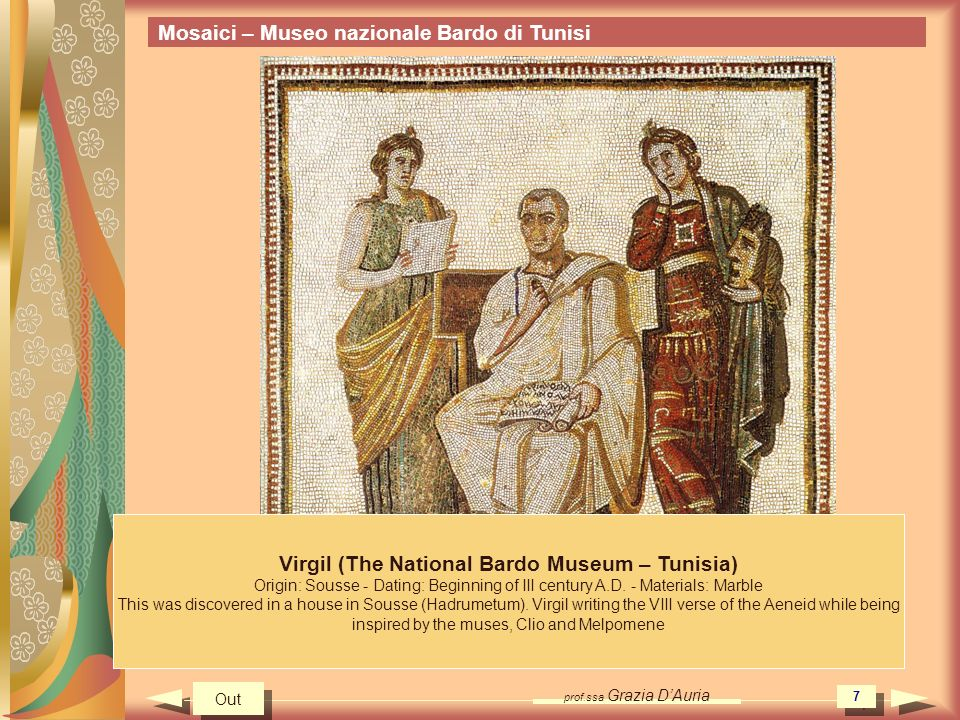 Virgil (The National Bardo Museum – Tunisia)