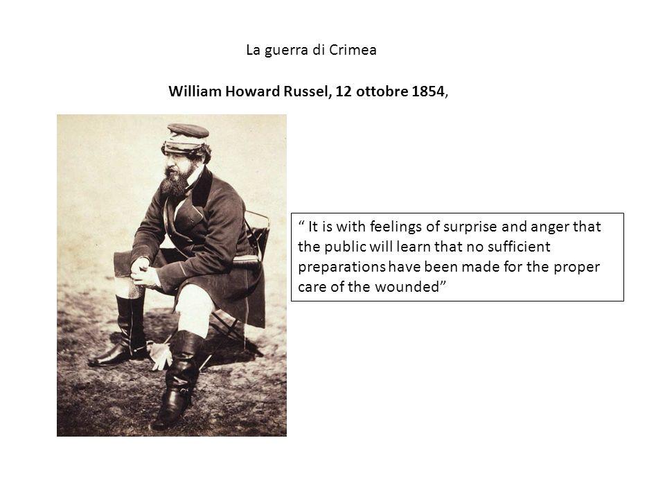 William Howard Russel, 12 ottobre 1854,