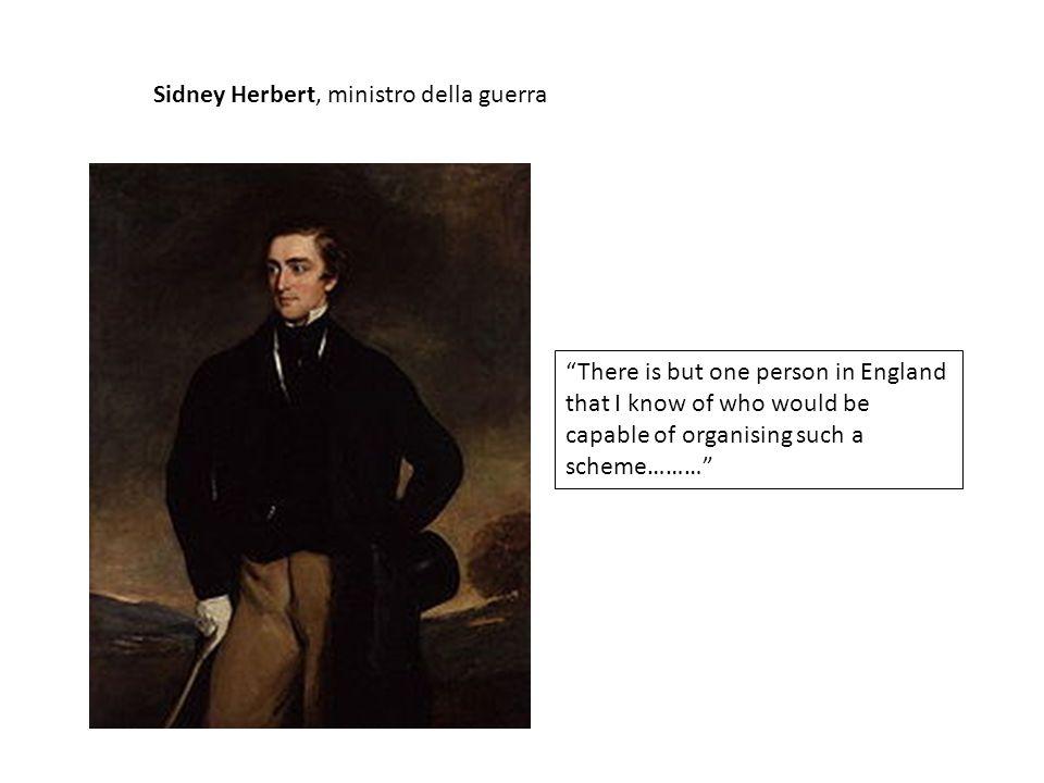 Sidney Herbert, ministro della guerra