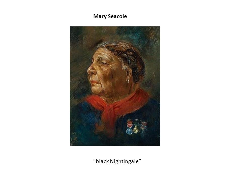 Mary Seacole black Nightingale