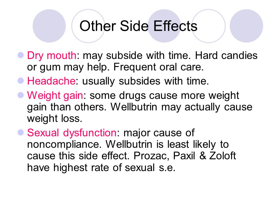 Side Effects Of Prozac For Children
