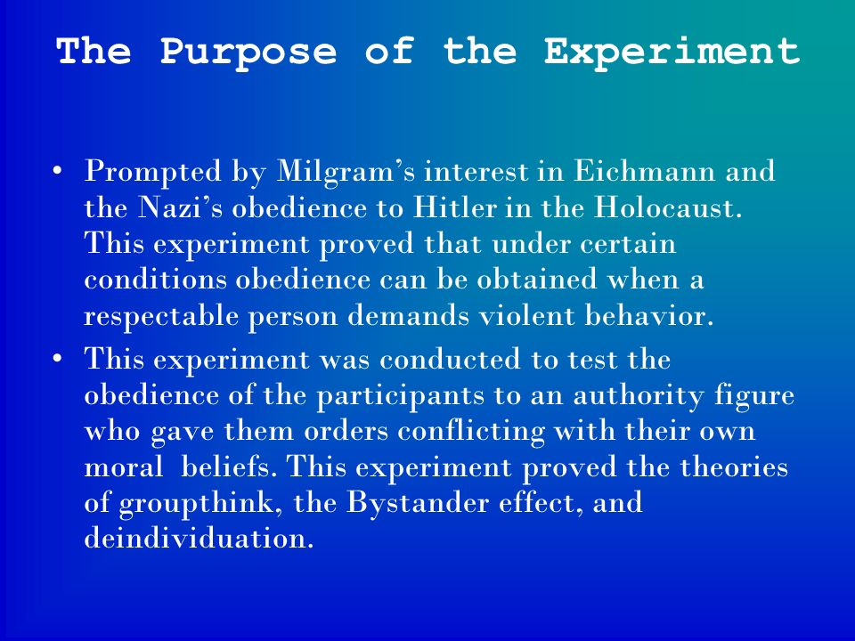 Milgram 1963 Experiment of Obedience - Edexcel Psychology