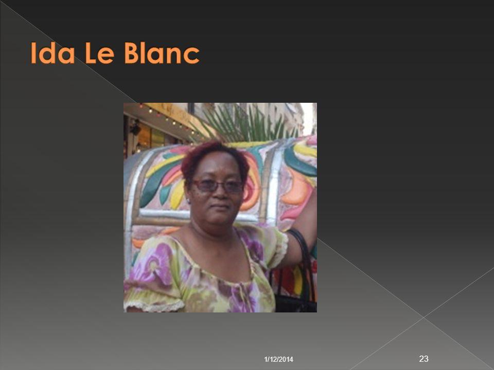 Ida Le Blanc 3/24/2017