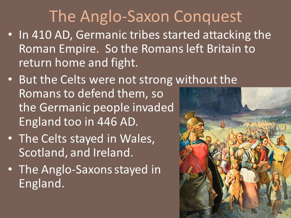 the anglo saxon conquest What happened to the anglo-saxon nobility after the norman conquest  the anglo-saxon upper class got taken  how did the norman conquest impact the anglo.
