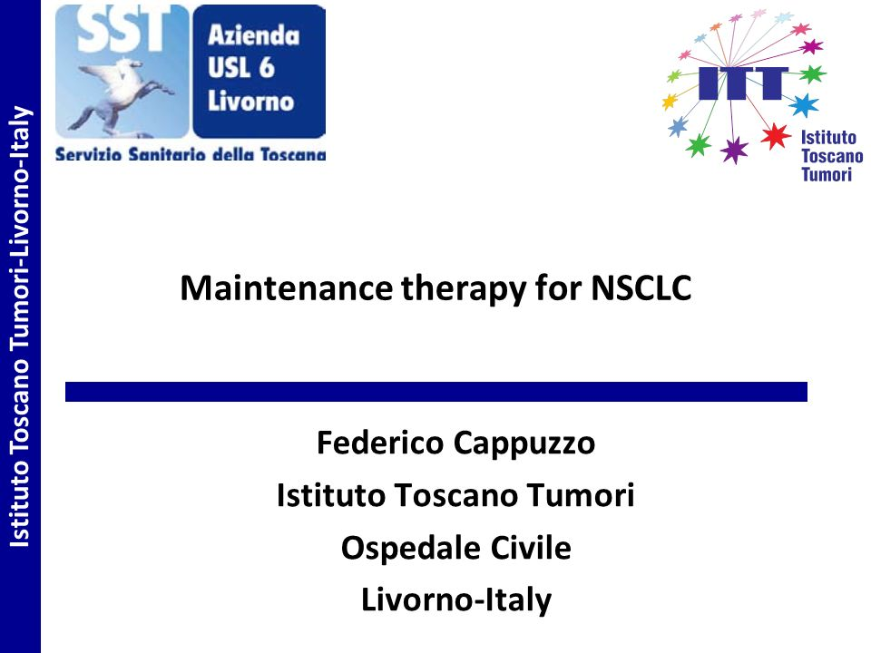 Maintenance therapy for NSCLC