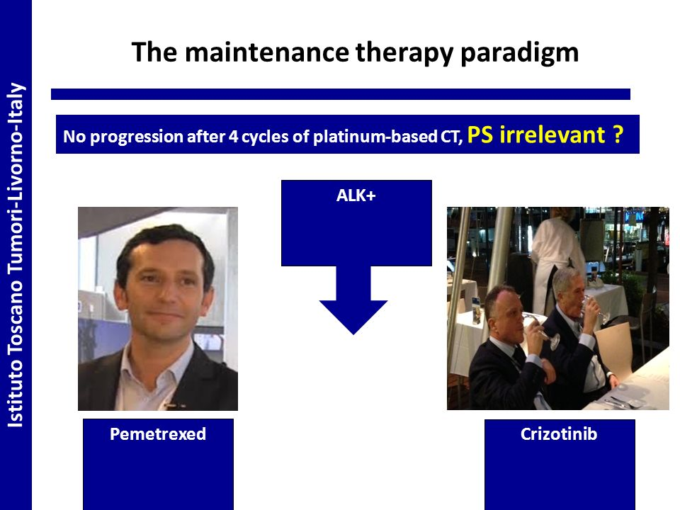 The maintenance therapy paradigm