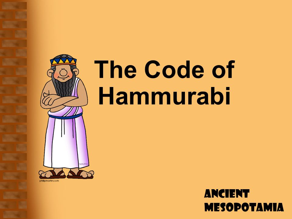 the importance of the code of hammurabi See hammurabi, code of like all the kings of his dynasty to succeed in controlling the euphrates waters—important in an area that depended exclusively on.