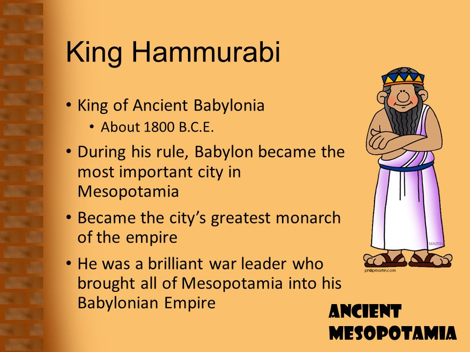 an analysis of the hammurabi the king of babylonia Canals bible international world history project world history from the pre-sumerian period to the present a collection of world history related essays because it may offer life a description of hammurabi the king of babylonia conditions similar to our solar system chronology of gods and man than.