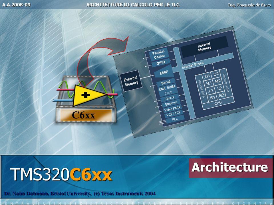 TMS320C6xx Architecture C6xx