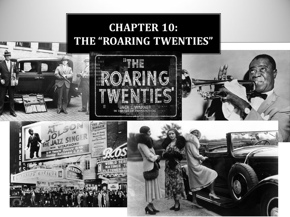 the roaring twenties For the first time it became possible for americans to buy on credit through the  credo of 'buy now, pay later' practices that ushered in the roaring twenties.