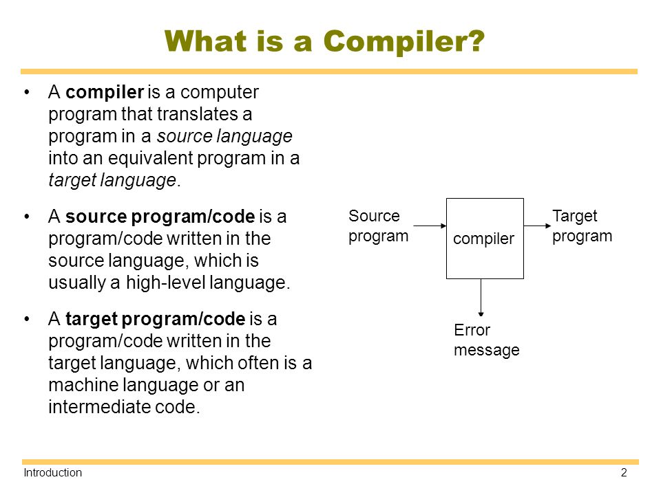 CSC 4181 Compiler Construction - ppt video online download