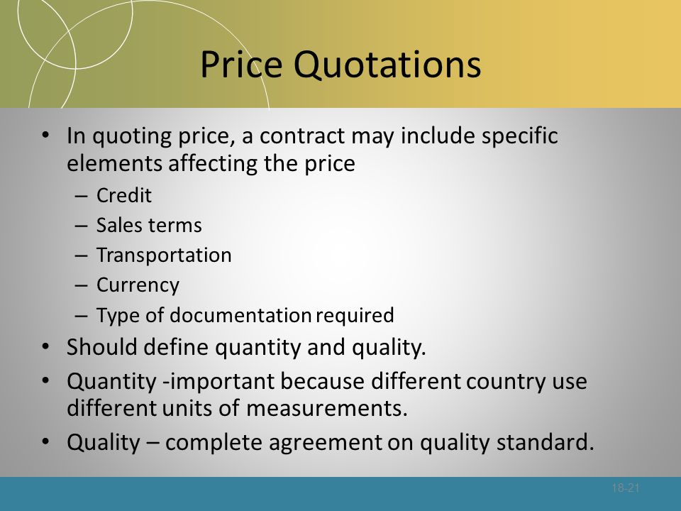 Pricing For International Markets - Ppt Download