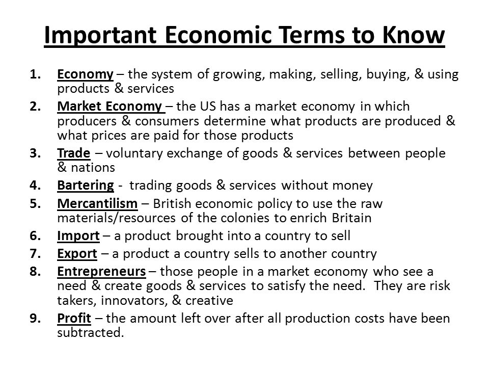 economics terminology Labour economics, study of the labour force as an element in the process of  production  it has borne particularly on those parts of the terms and conditions  of.