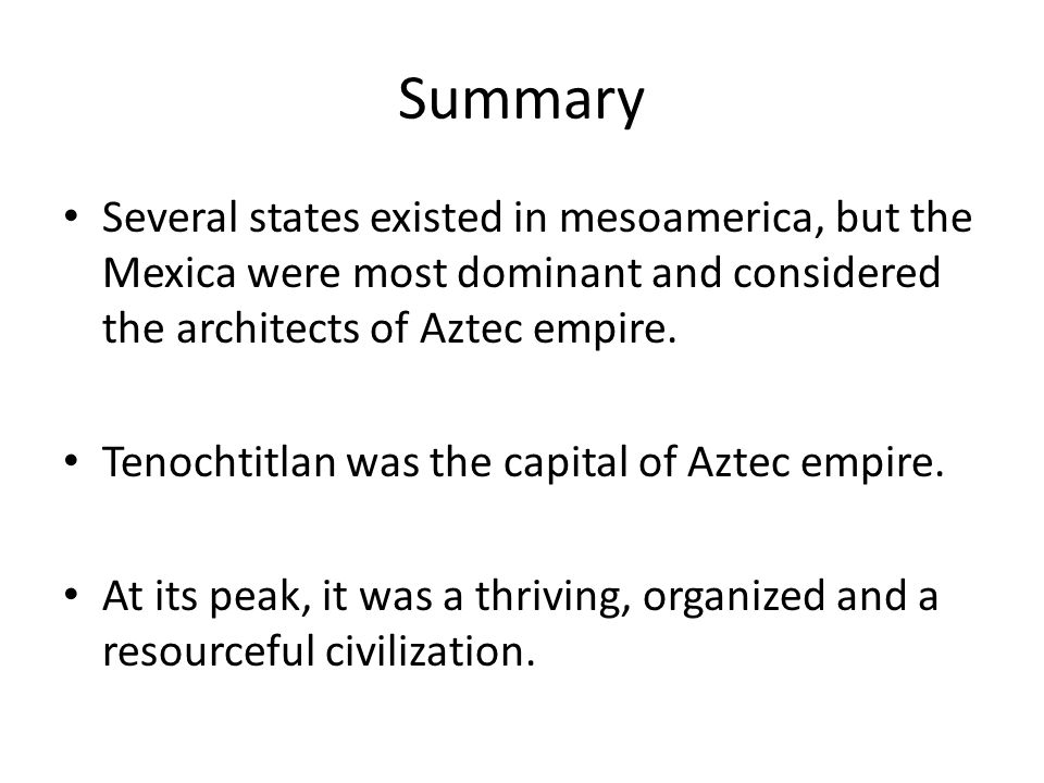 an overview of mesoamerica Description text to the top of the page.