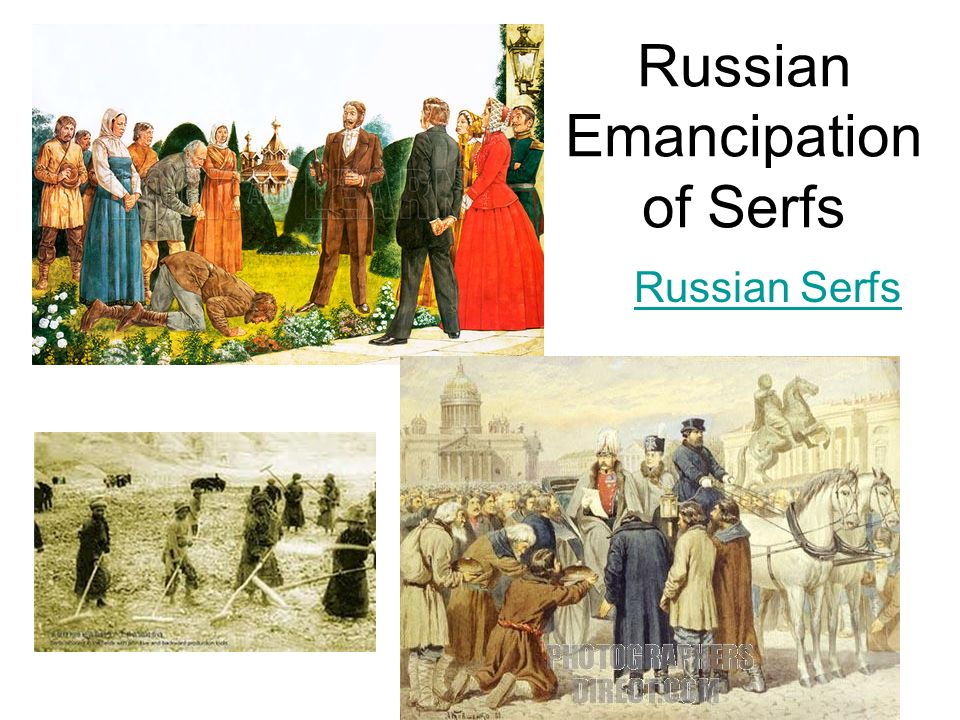 Emancipation Of Serfs