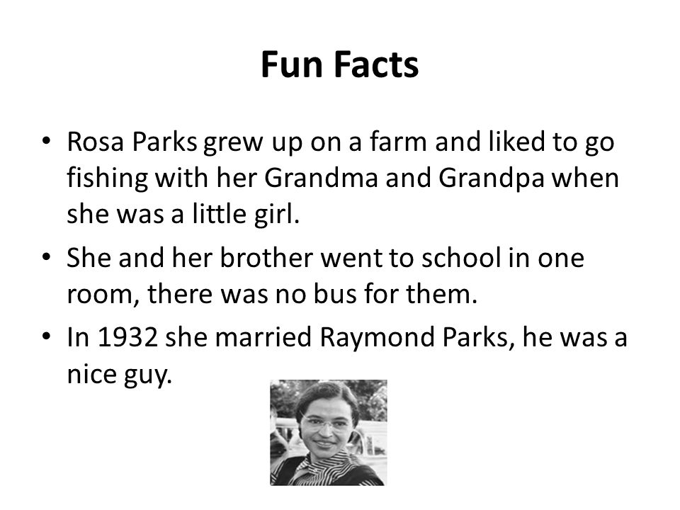 would like meet rosa parks
