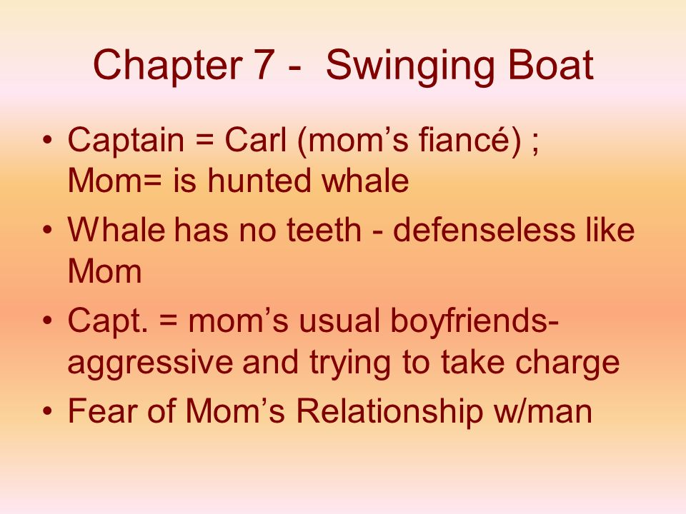 Chapter 7 - Swinging Boat