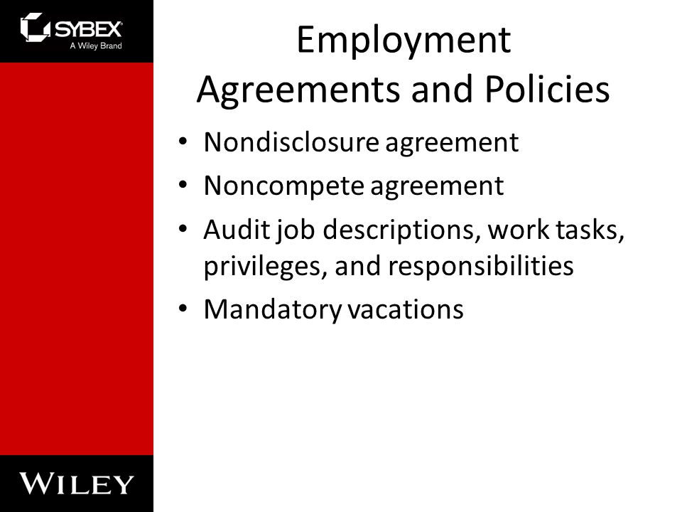 Chapter 2: Personnel Security And Risk Management Concepts - Ppt