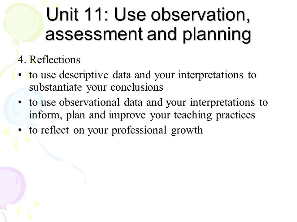 development planning observation and assessment An individual professional development plan (ipdp) can serve as a guide to help you organize your ideas about how you want to grow professionally and how you are going to accomplish that growth an ipdp will help you think about the following things:  observation and assessment children with special needs  notes  13 ar ipdp01/16.