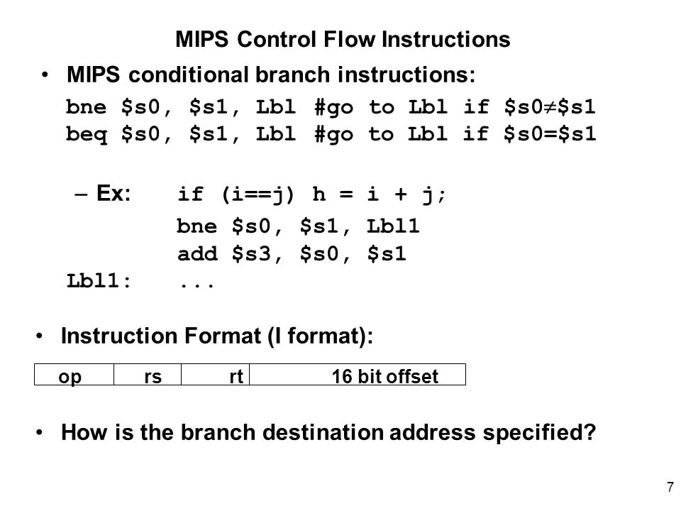 Mips Format Ibovnathandedecker