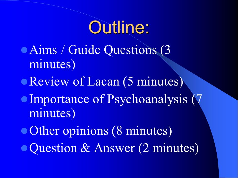 5 minutes article review guide