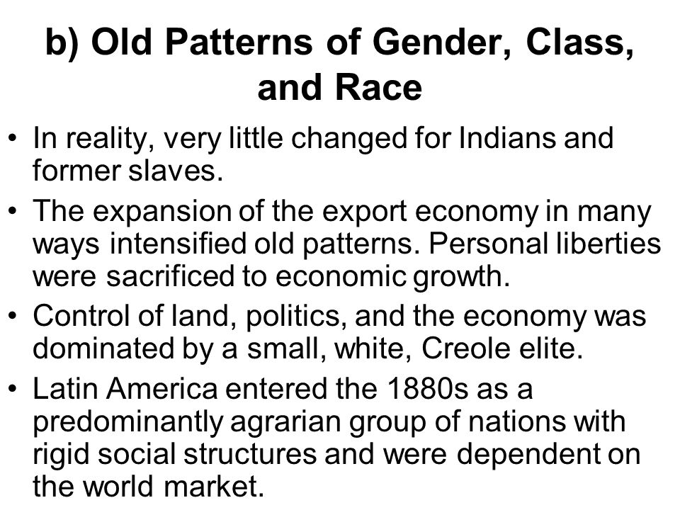 race class gender in early Black radical theory and practice: gender, race, and class  and early 21st centuries the focus is on certain strands of black radicalism, especially the black.
