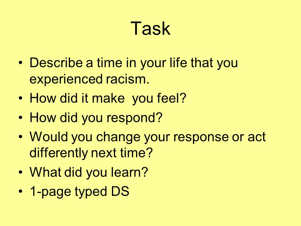task one how would you What one thing would you change about your last job  comfortable with jumping right in to new tasks or duties or whether you feel the need to take time adjusting .