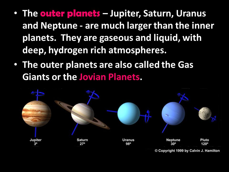 what are the gas planets called - photo #9