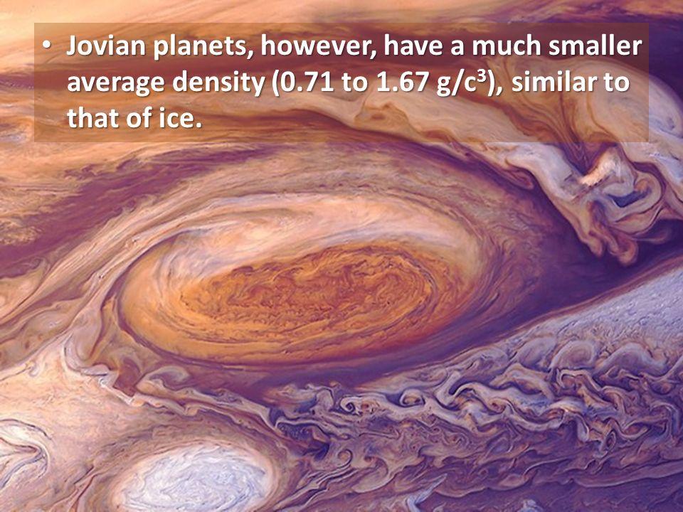 jovian planets density - photo #26