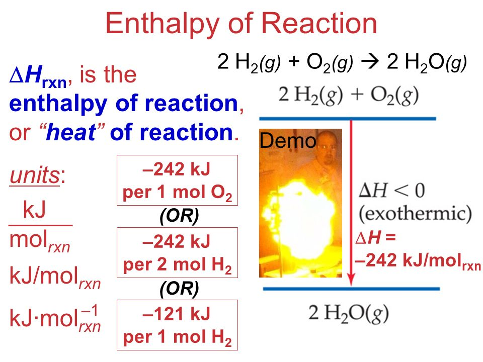 how to calculate molar enthalpy change of a reaction