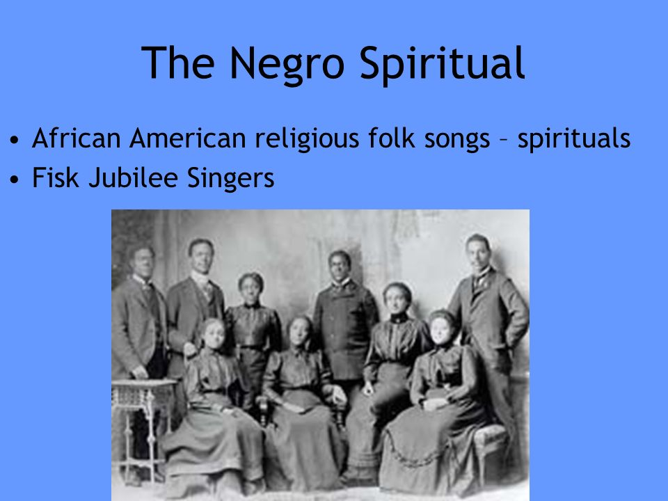 african american music slave spirituals blues The blues has since evolved from negro spirituals, essentially becoming a form  of cultural music that reveals the many emotions of someone's day to day life.