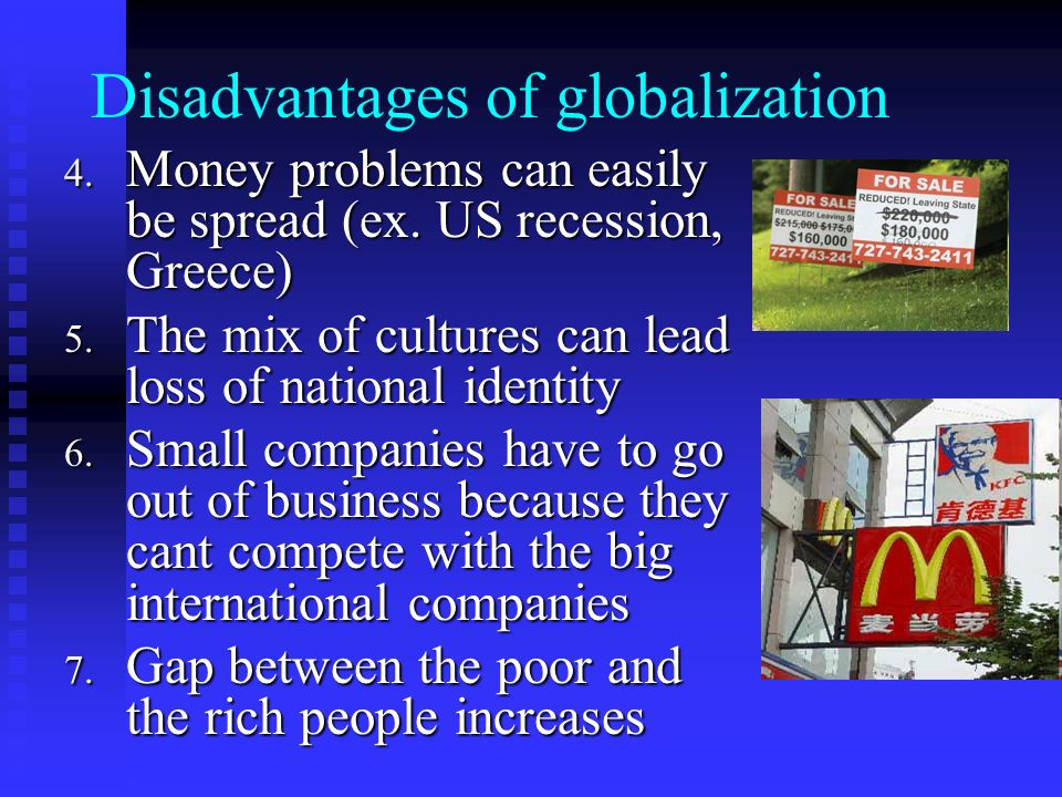 disadvantages of globalization in cambodia