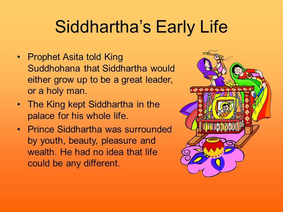 Siddhartha's Early Life