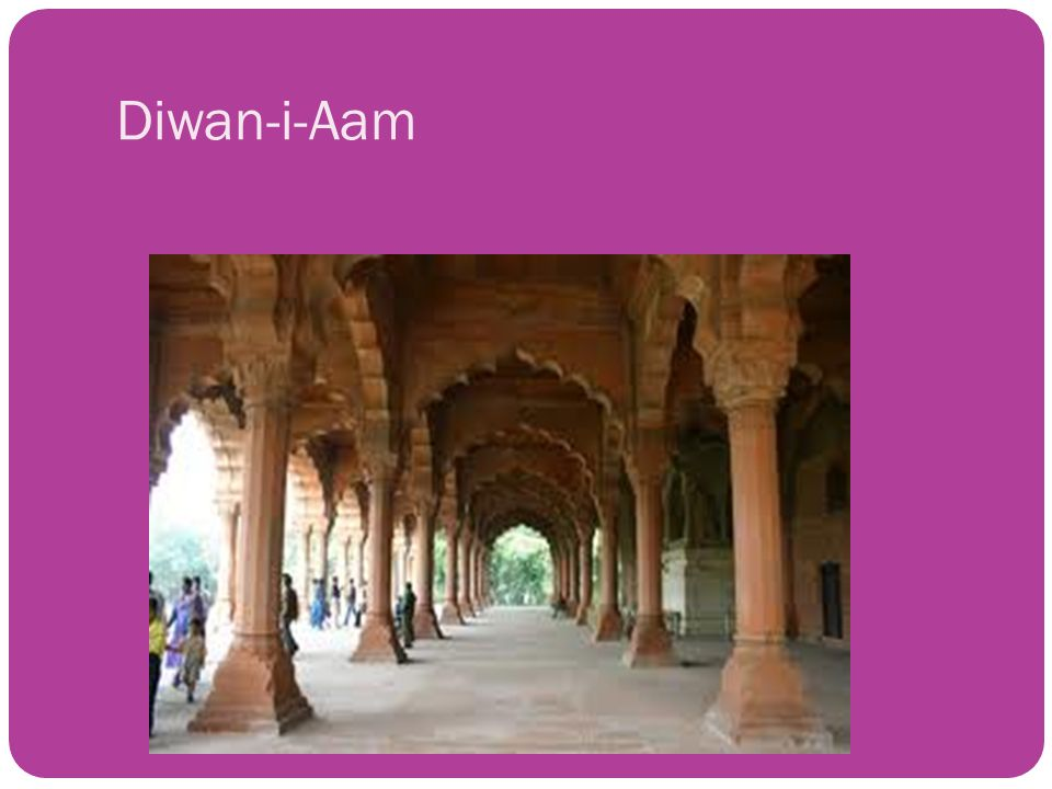 The mughals akbar the great ppt video online download for Diwan i aam images