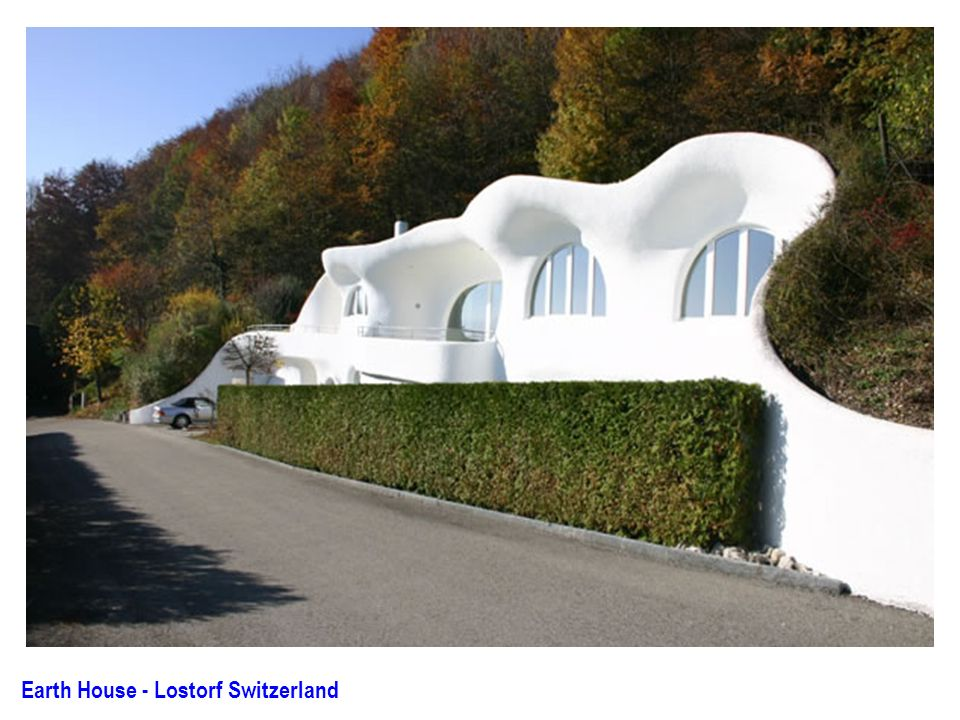 Architecture ppt download for Earth house switzerland