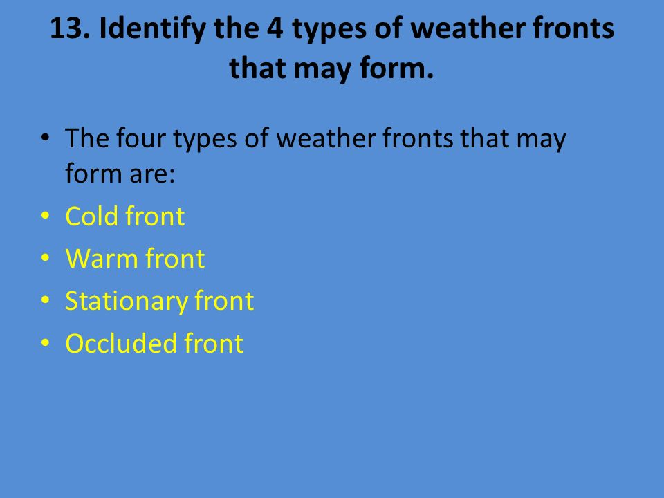 Section 1.2 The Causes of Weather - ppt video online download