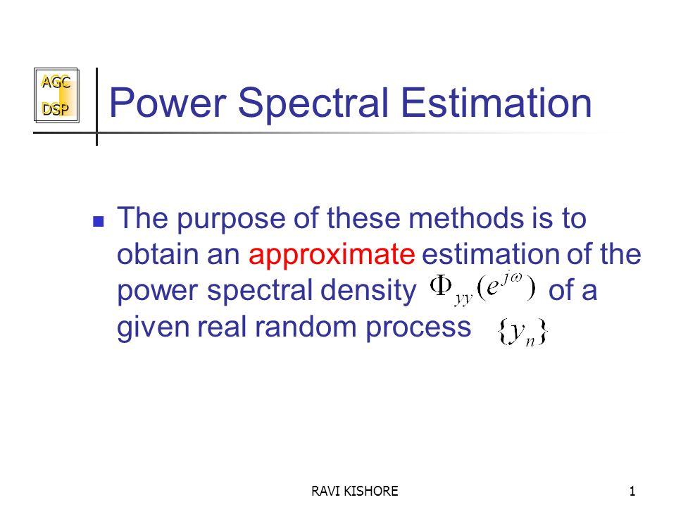 Power Spectral Estimation