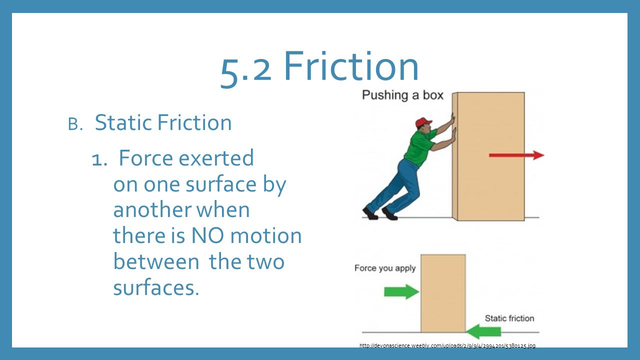 is there a relationship between surface area and friction force