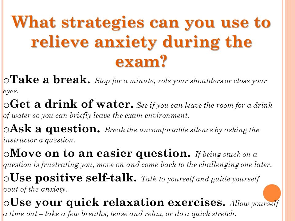 how to avoid nervous breakdown during exams That already said how we avoid a nervous breakdown during our exam firstly is the student have to manage time because some student very worried in time firstly is the student have to manage time because some student very worried in time.